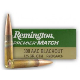 REMINGTON 300AAC Blackout PREMIER MATCH 125grains