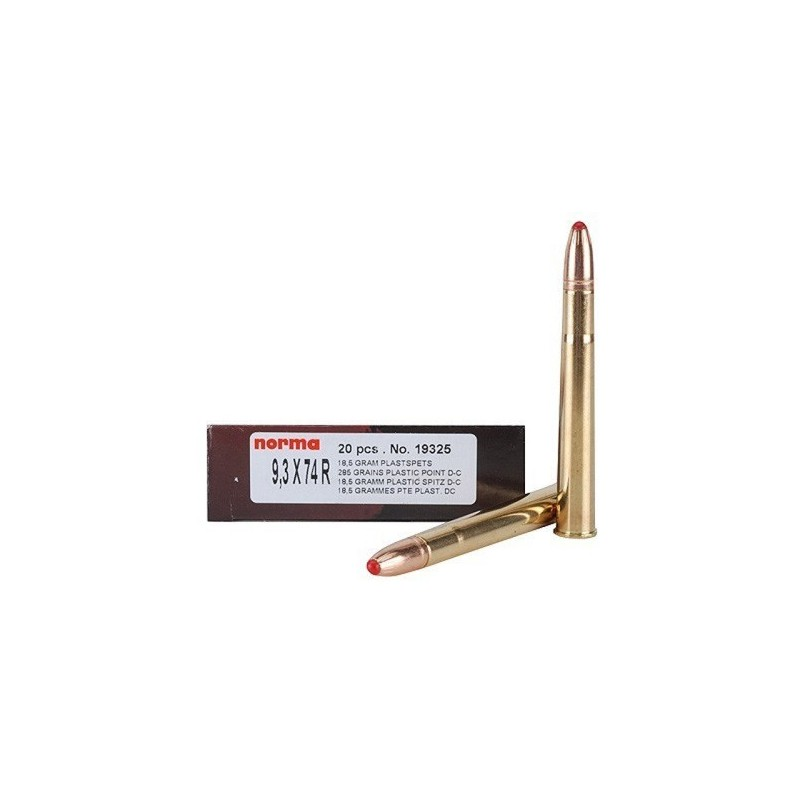 NORMA 9.3x74R PPDC 285GR