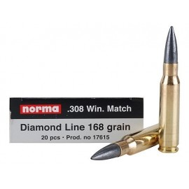 NORMA 308Win Diamond Line 168gr Match