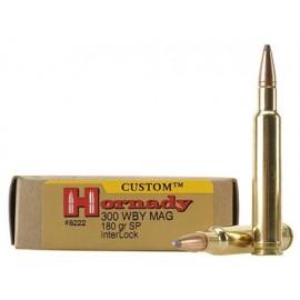 HORNADY CUSTOM 300 Weatherby Magnum 180GR. InterLock Spire Point