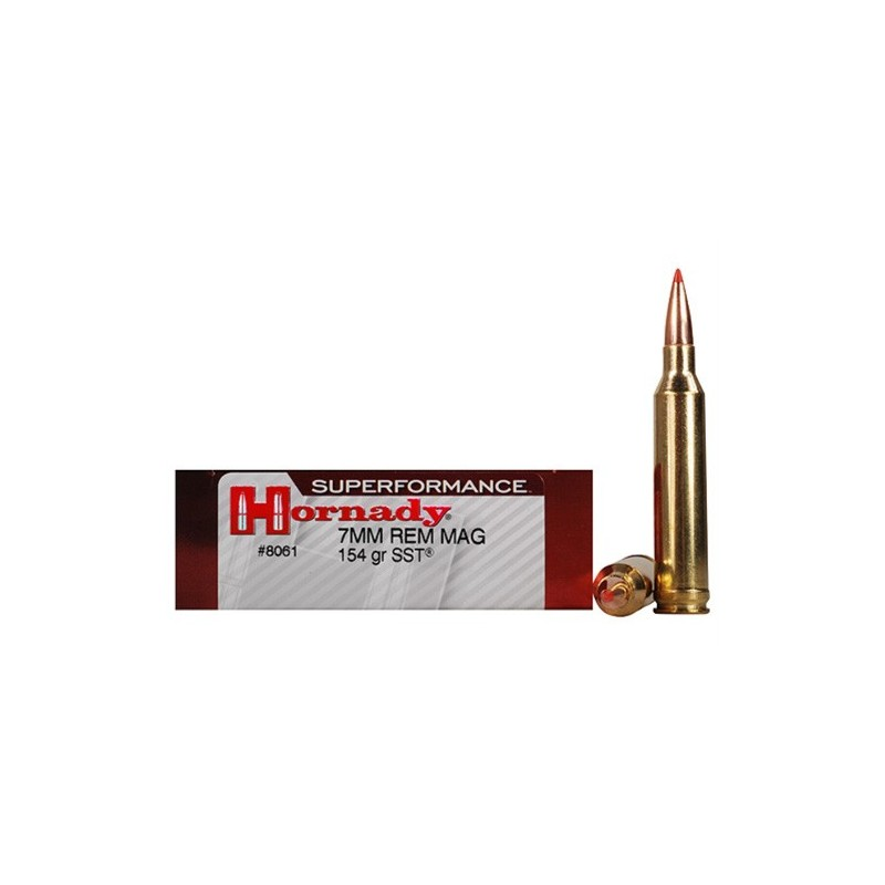 Hornady Superformance SST 7mm Remington Magnum 154 Grain SST