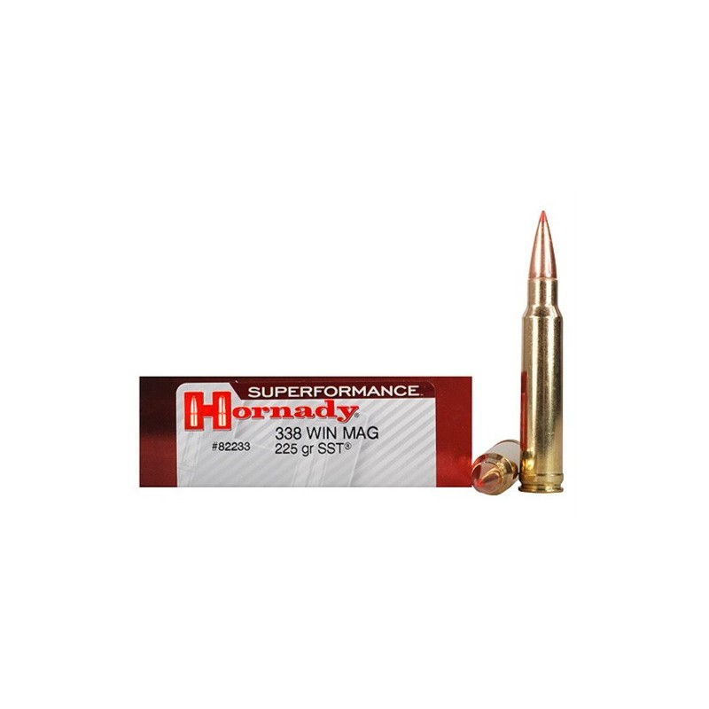 Hornady Superformance SST 338Win Mag 225 Grain SST