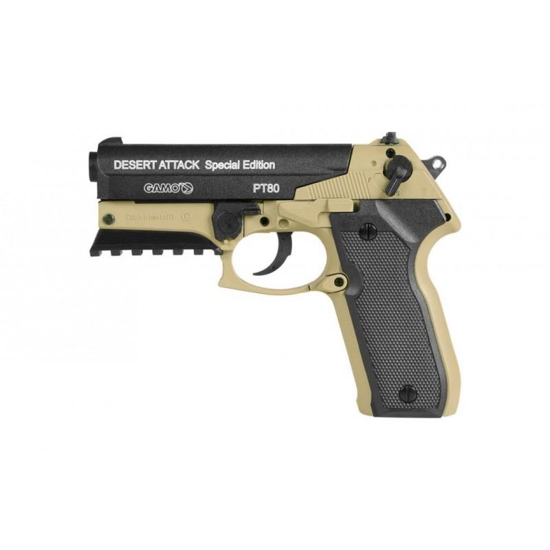 Pistolas Aire Comprimido GAMO PT-80 Desert Attack Special Edition