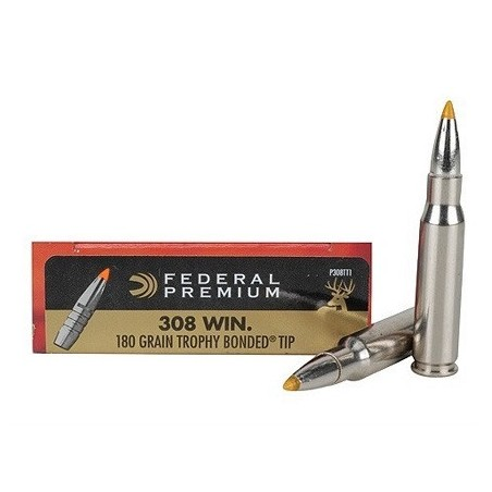 FEDERAL PREMIUM TROPHY BONDED TIP 308Win