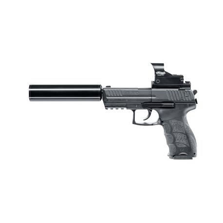 Pistolas Aire Comprimido KIT UMAREX H&K P30 (moderador-Walther Nano Point- montura)
