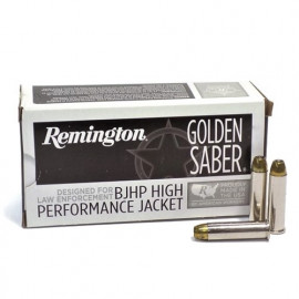 REMINGTON 9mm Luger GOLDEN SABER Brass Jacketed Hollow Point 147gr