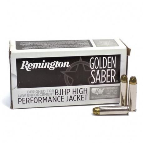 REMINGTON 9mm Luger GOLDEN SABER Brass Jacketed Hollow Point 147gr