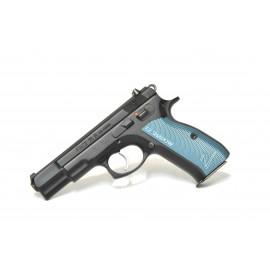 PISTOLA CZ75B Calibre 9Pb (Cachas aluminio Shadow II Azul)